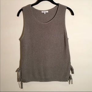 MADEWELL knit tank in olive